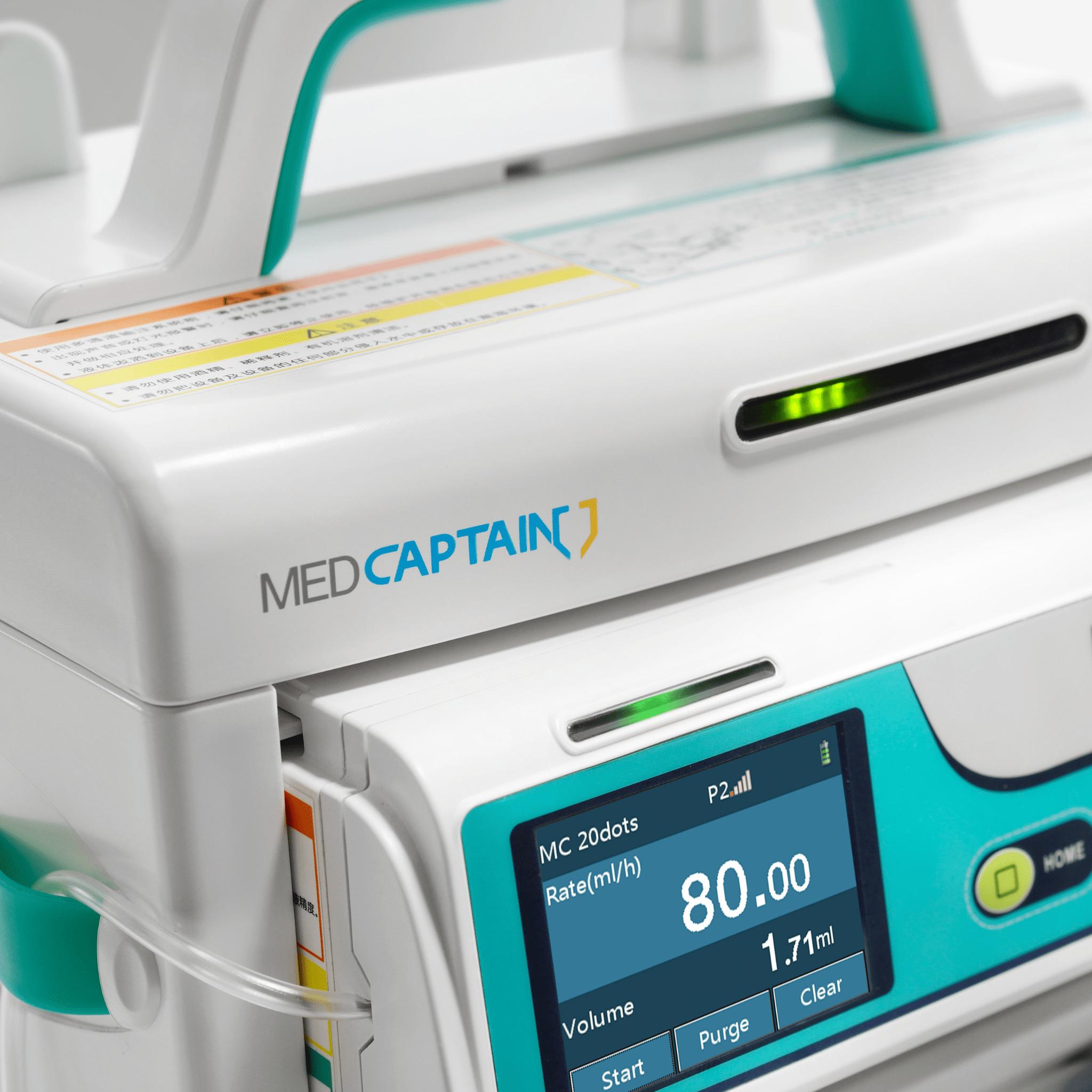 Bomba de infusion MP-60 Med Captain Centro de Servicios Hospitalarios 2